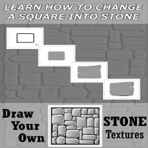 Draw Your Own -  STONE Textures image 1