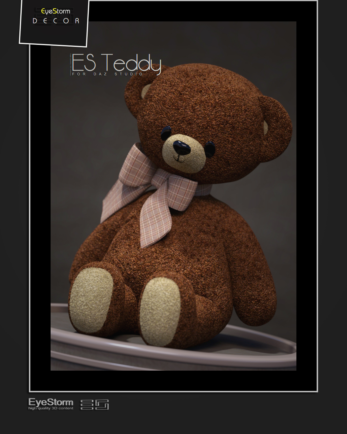 ES Teddy for DAZ Studio