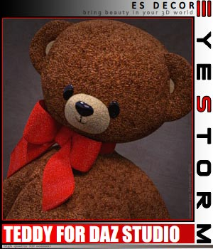 ES Teddy for DAZ Studio 3D Models EyeStorm