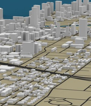 Miami Cityscape - Extended License Gaming Extended Licenses 3D Models Digimation_ModelBank