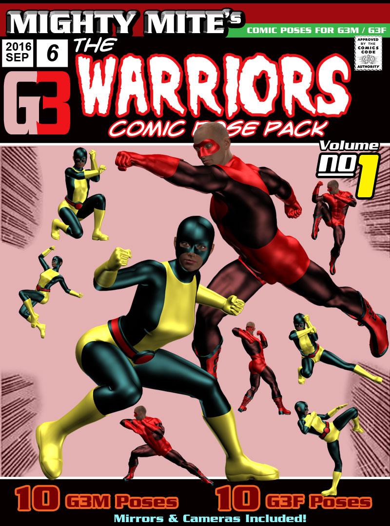 The Warriors v01  MMG3 by MightyMite