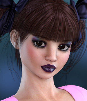 Dollz: Natalie for Girl 7 and Genesis 3 3D Figure Assets 3DSublimeProductions