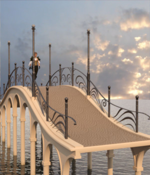 Elegant Bridge for Daz Studio 3D Models TMDesign
