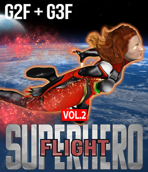 SuperHero Flight for G2F & G3F Volume 2 3D Figure Essentials GriffinFX