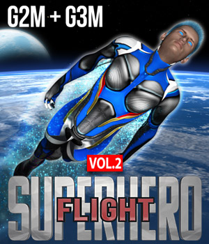 SuperHero Flight for G2M & G3M Volume 2 3D Figure Essentials GriffinFX