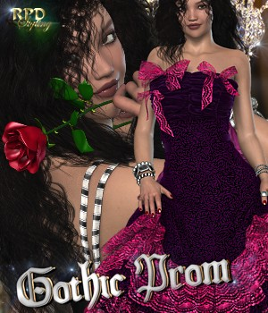Lolita Dress - Gothic Prom 3D Figure Essentials renapd