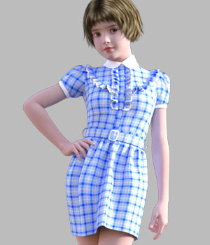 GaoDan Dress 18 3D Figure Essentials gaodan