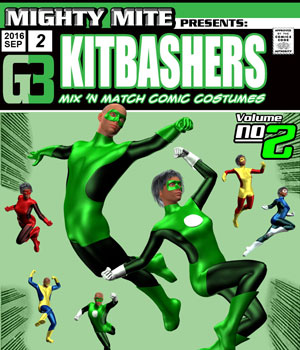 Kitbashers v02 : By MightyMite for G3M/G3F 3D Figure Essentials MightyMite
