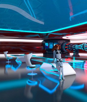 AJ Futuristic Base 2 by -AppleJack-