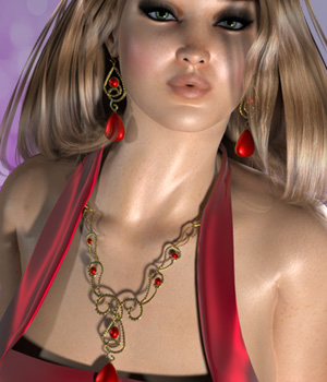 Zosia Jewels for V4 3D Figure Essentials jancory