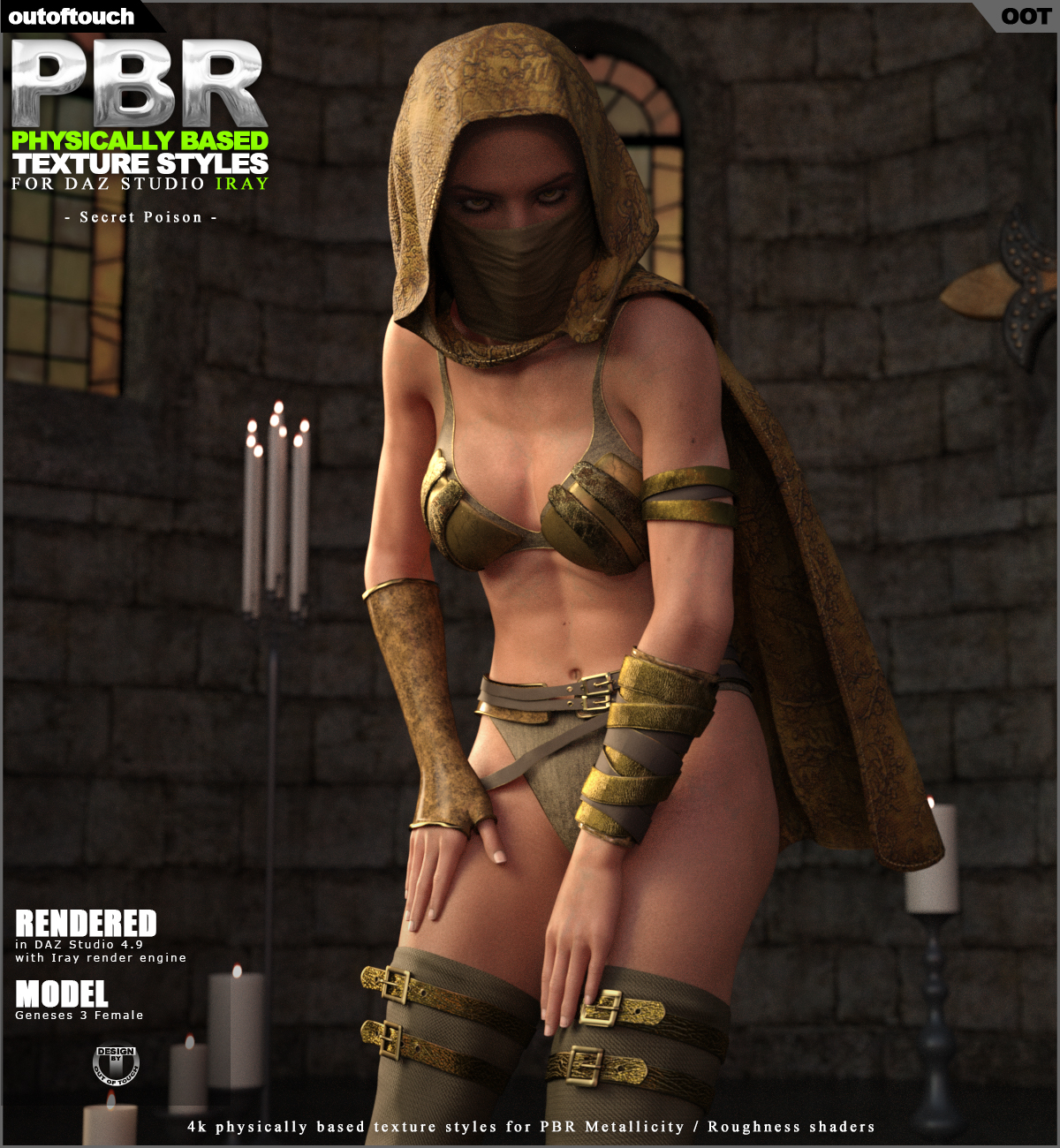 OOT PBR Texture Styles for Secret Poison