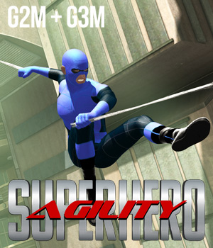 SuperHero Agility for G2M & G3M Volume 1 3D Figure Essentials GriffinFX