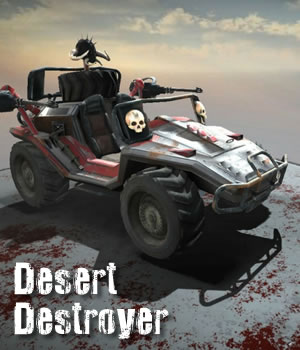Desert Destroyer Vehicle - Extended License 3D Models 3D Game Models : OBJ : FBX Extended Licenses dexsoft-games
