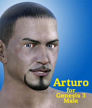 Arturo for Genesis 3 Male 3D Figure Essentials Dave