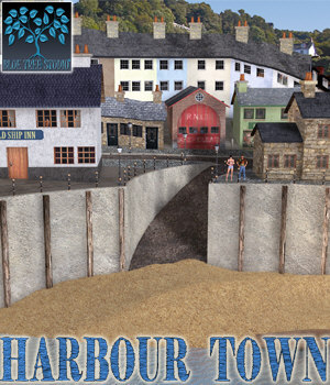 Harbour Town 3D Models BlueTreeStudio
