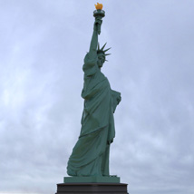 Statue of Liberty for Wavefront OBJ and Vue  - Extended License image 8