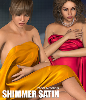 Poser - Shimmer Satin 2D Graphics Merchant Resources Atenais