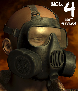 Modern Gas Mask 3D Models 3D Figure Essentials coflek-gnorg