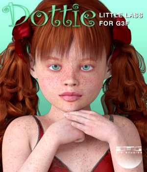 DTG Studios' Dottie for G3F 3D Figure Essentials DTHUREGRIF