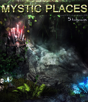 Mystic Places - 2D backgrounds