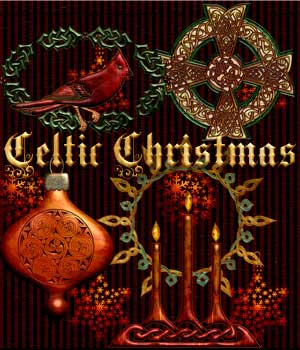 Harvest Moons Celtic Christmas 2D Graphics Merchant Resources MOONWOLFII