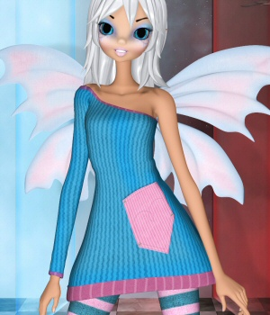 StarFairyGirl Expansion 3D Figure Essentials 3DTubeMagic