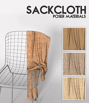 Sackcloth :: Poser Materials 2D Cyrax3D