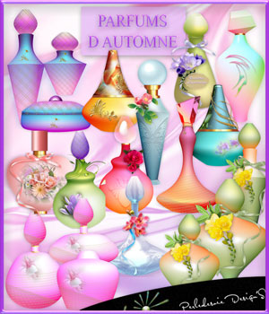 Parfums of Automne 2D Graphics Merchant Resources Perledesoie