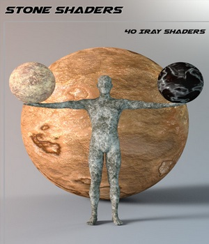 Stone Shaders for Iray and Merchant Resource 3D Figure Essentials Merchant Resources SF-Design