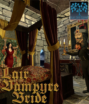 Lair of the Vampyre Bride 3D Models BlueTreeStudio