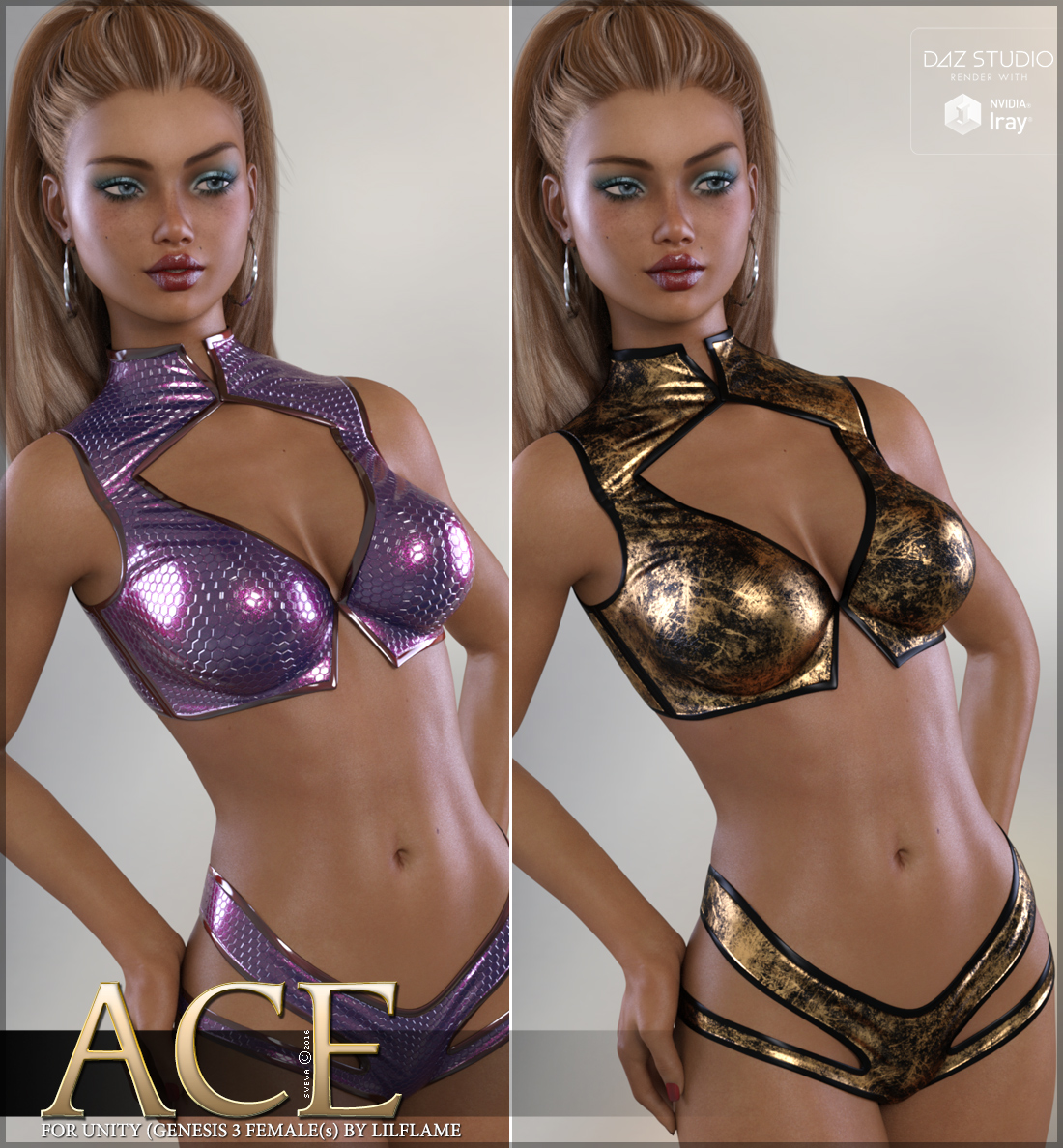 Ace for Unity Genesis 3 Females