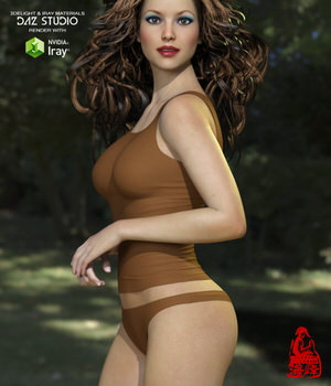 Sexy Underwear for Genesis 3 Females