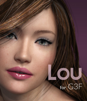 TF Lou for G3F 3D Figure Essentials Trifid