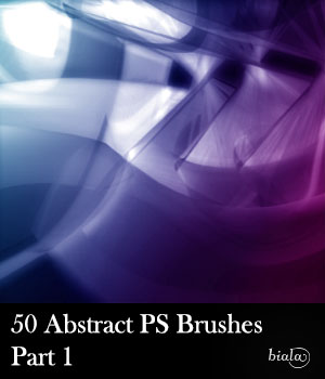 Abstract PS Brushes 2D Graphics biala