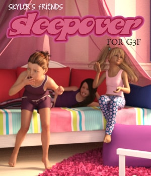 Skyler's Friends - Sleepover 3D Figure Essentials AliveSheCried