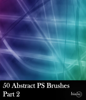 Abstract PS Brushes Part2 2D biala