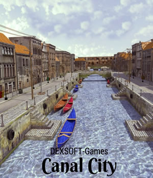 Canal City 3D Game Models : OBJ : FBX Extended Licenses dexsoft-games