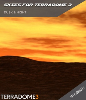 HDR Sky Environments - Dusk & Night 3D Figure Assets 3D Lighting : Cameras 3D Software : Poser : Daz Studio : iClone SF-Design