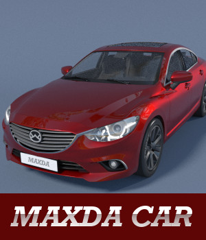 Maxda Car 3D Models TruForm