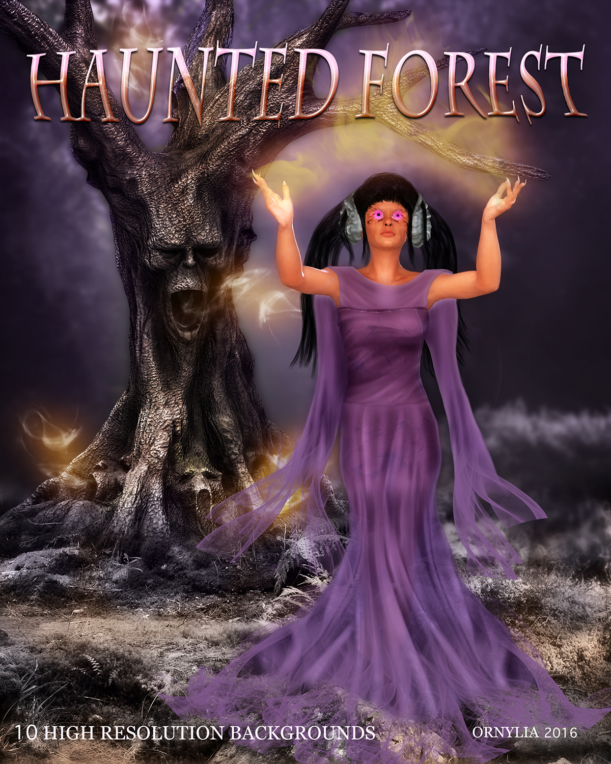 Haunted forest by ornylia