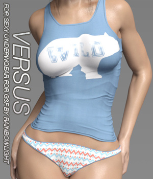 VERSUS - Sexy Underwear for Genesis 3 Females