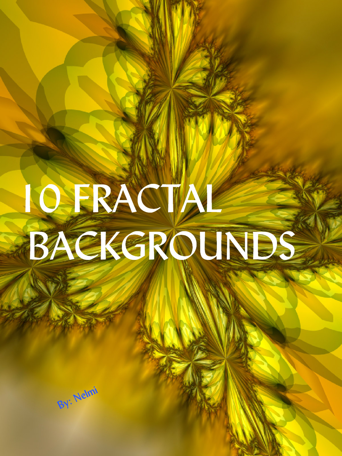 10 Fractal Backgrounds
