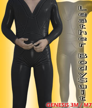 Leather BodySuit for G3M / Michael 7 3D Figure Assets zachary