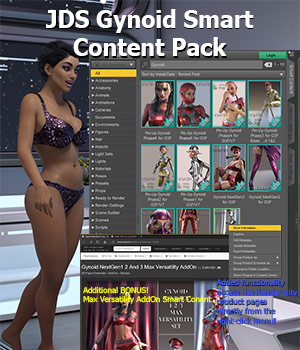 JDS Gynoid Smart Content Pack Software jdstrider