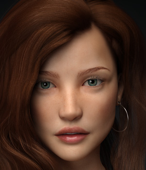 Amarisa for G3F 3D Figure Essentials mousso