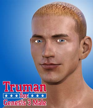 Truman for Genesis 3 Male 3D Figure Essentials Dave