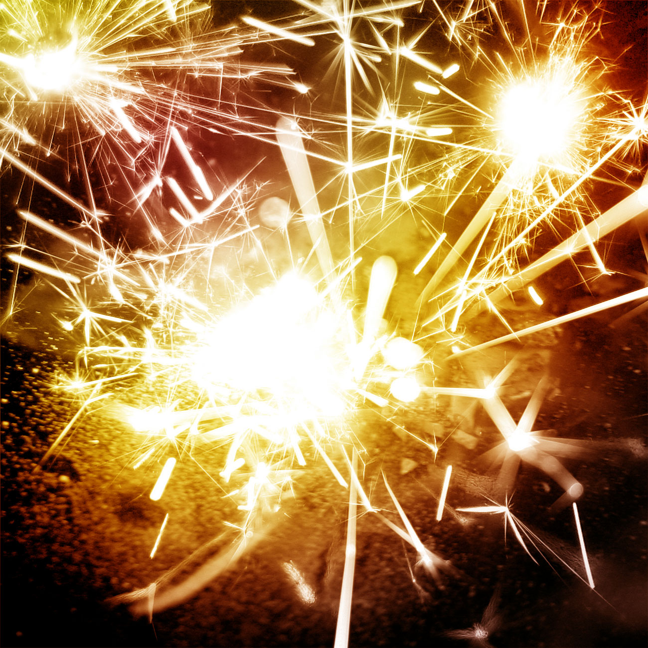 50 Real Fireworks PS Brushes by biala