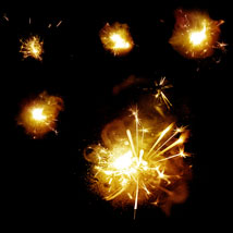50 Real Fireworks PS Brushes image 6