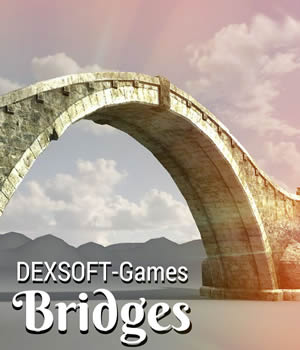 Bridges 3D Models Extended Licenses Game Content - Games and Apps dexsoft-games