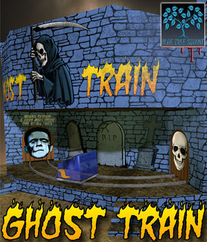 Ghost Train 3D Models BlueTreeStudio